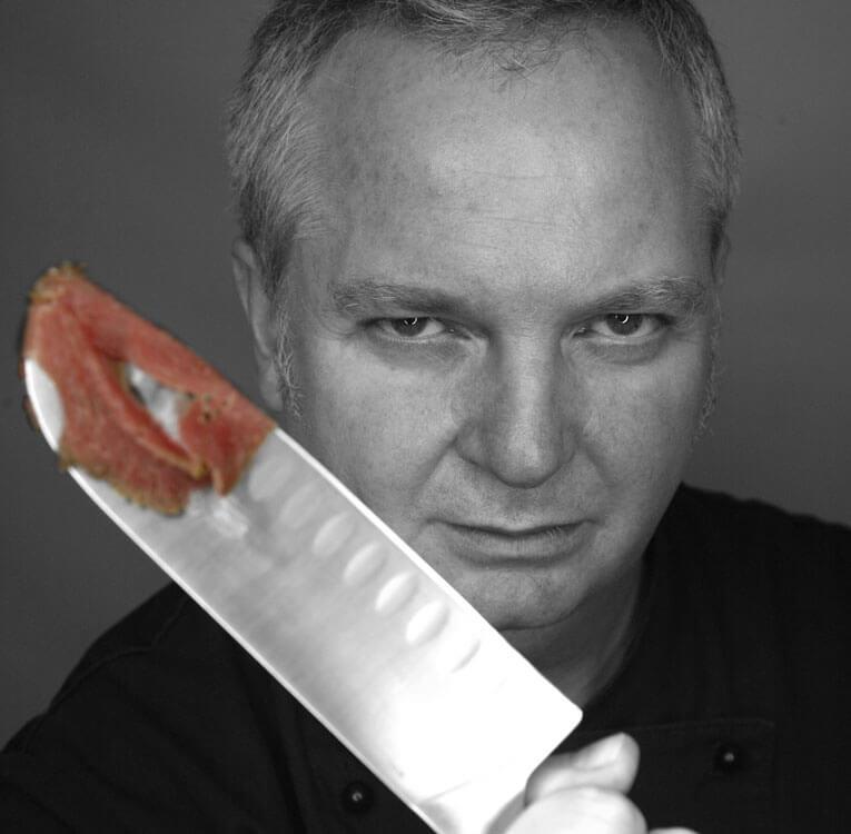 Jobs, fotografiert von Monika Sandel mit scharfem Messer und Blick