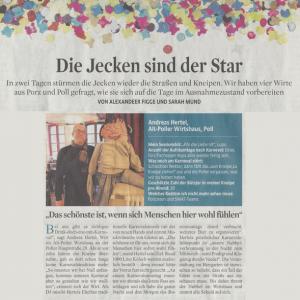 Kolumne in Kölner Stadt Anzeiger
