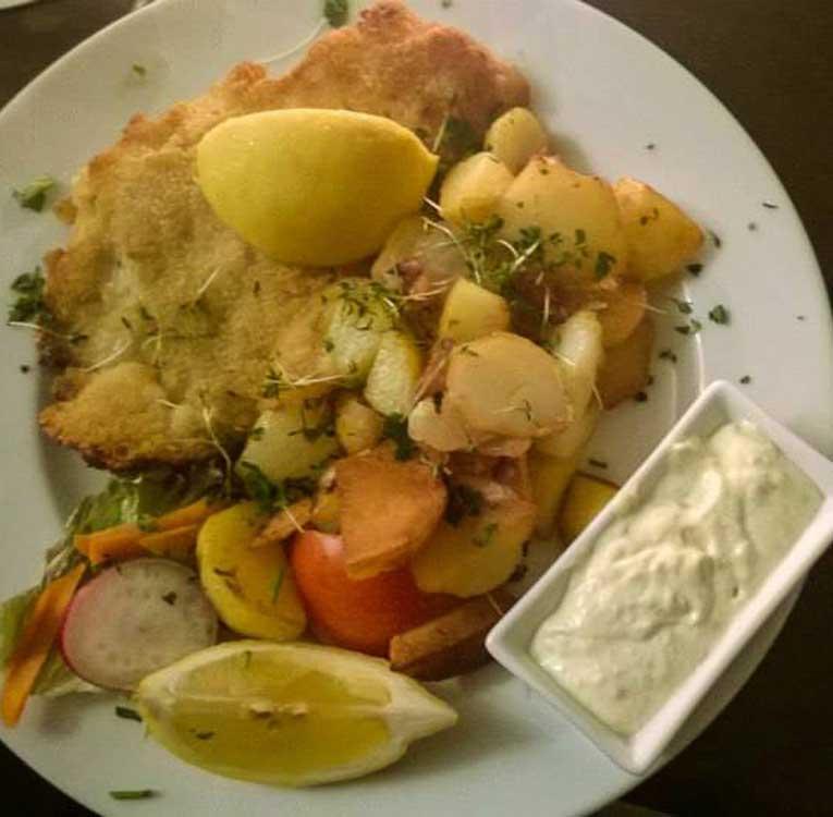 Rotbarsch mit Kartoffeln