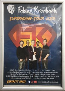 Plakat zur Superman Tour